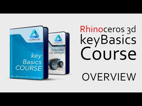Rhinoceros 3D COURSE Overview - YouTube