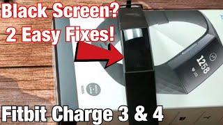 Fitbit Charge 3 & 4: How to Fix Black Screen (2 Easy Fixes!!!)