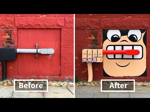 There's A Genius Street Artist Running Loose In New York And Let's Hope Nobody Catches Him
