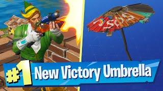 Unlocking the Chapter 2 Season 3 Victory Glider (Umbrella) - Fortnite Battle Royale