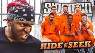 SIDEMEN HIDE AND SEEK IN A PRISON