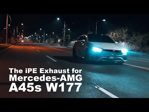 The iPE Exhaust for Mercedes-AMG A45s W177