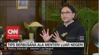 Tips Berbusana Ala Menteri Luar Negeri Retno Marsudi