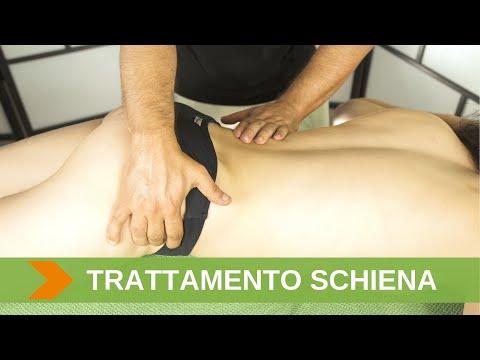 Massaggio di malattia degenerativa del disco cervicale Ekaterinburg