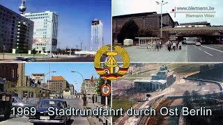 preview picture of video '1969 - Stadtrundfahrt durch Ost Berlin'