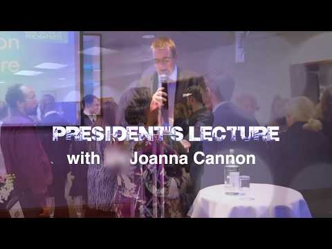 President's lecture Joanna Cannon - Manchester