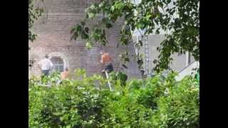 1e fase restauratie Korenmolen in Drunen