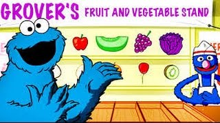 Sesame Street Color Me Hungry - Gameplay | Games For Children | Games For Kids