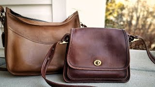 Vintage Coach Purse: How To Condition A Leather Bag - Chamberlains Leather Milk
