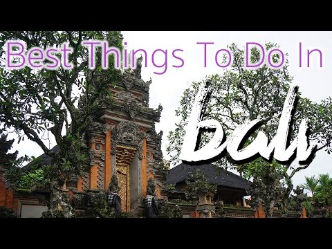 Video Things to do in BALI Tourism & Attractions - Nyepi