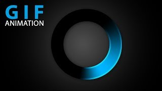 How to create a Loading Circle Animation in Photoshop ( in