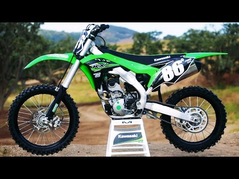 First Ride 2017 Kawasaki KX250F - Motocross Action Magazine