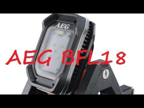 [Test AEG 18V] Lampe / projecteur de chantier AEG BFL18X-0