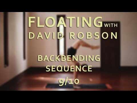 David Robson astanga jóga második sorozat hátrahajlítások (9/10)