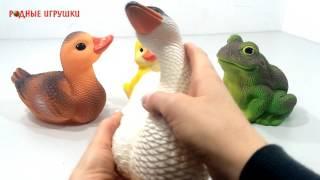 Резиновая игрушка Лебедь   Артикул С 815