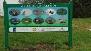 A sponsored walk around Lakeside Part 1