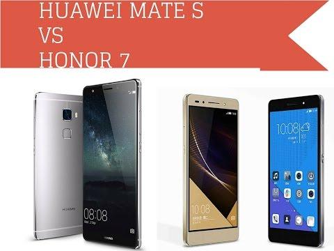 Huawei Mate S vs Honor 7