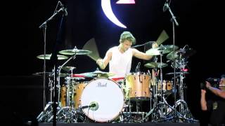 AreJay Hale's Drum Solo at Missouri State Fair Aug