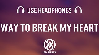 Ed Sheeran - Way To Break My Heart (8D AUDIO) feat. Skrillex