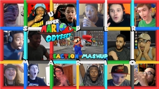 Super Mario Odyssey Reveal Trailer Reaction Mashup