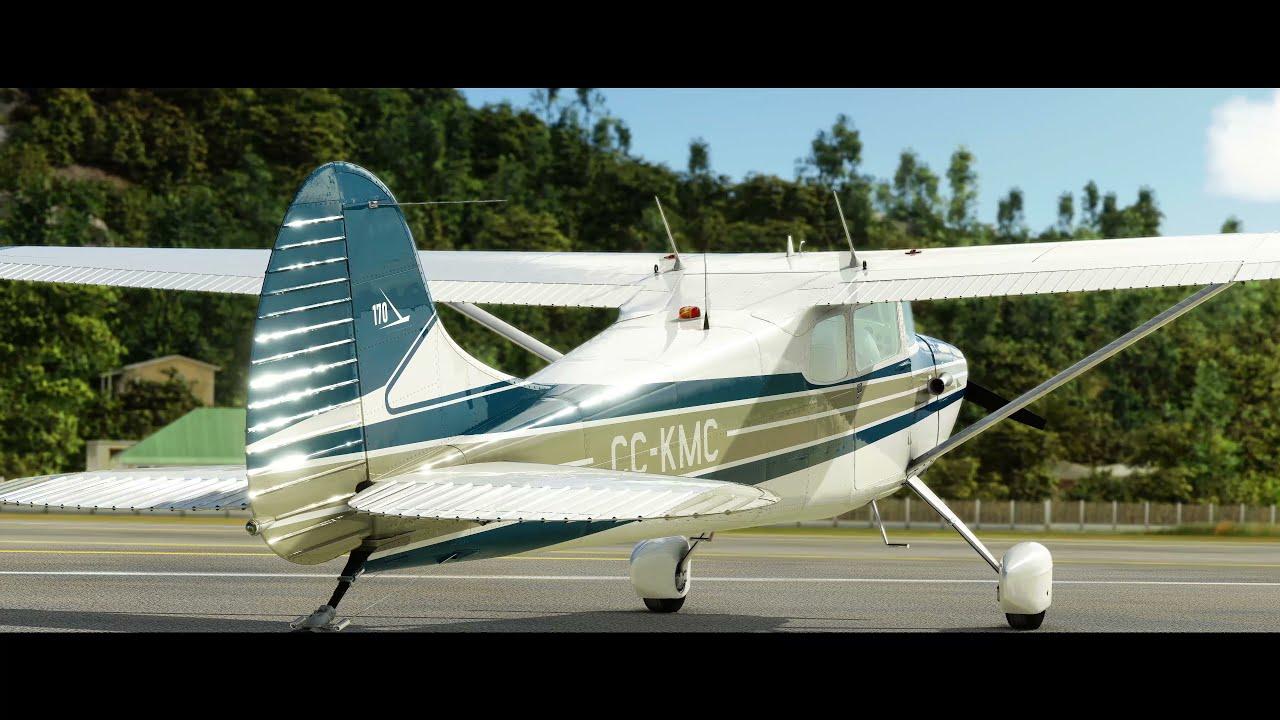 Microsoft Flight Simulator Carenado C170B: Now Available in Microsoft Flight Simulator Video Still