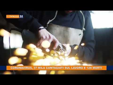 CORONAVIRUS 37 MILA CONTAGIATI SUL LAVORO E 129 DECESSI