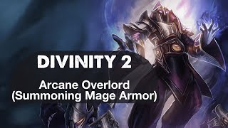 Arcane Overlord Summoning Mage Armor Mod