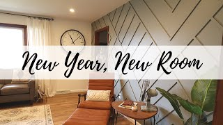 Living Room Reveal | Mixing Styles: Mid-Century Modern, Boho, And Art Deco