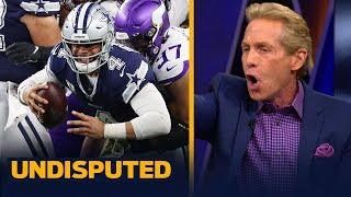Skip Bayless reacts to the Dallas Cowboys' Week 10 loss to the Vikings   NFL   UNDISPUTED