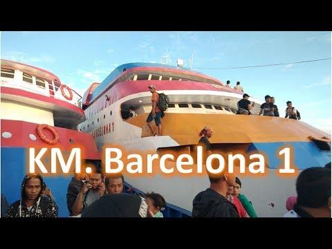 Berlayar Bersama KM. Barcelona 1|| Tahuna-Manado