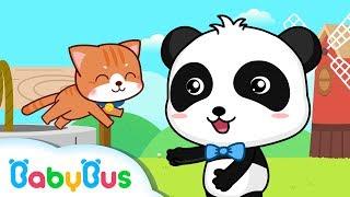 ♬DingDongBell カ-ン鐘がなる 赤ちゃんが喜ぶ英語の歌 子供の歌 童謡 アニメ 動画 BabyBus