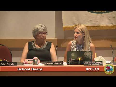 School Board 8.13.19