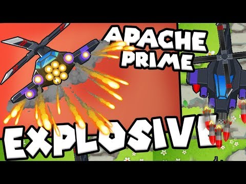 Bloons TD 6 - Apache Prime - Tier 5 Heli Pilot | JeromeASF