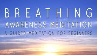 Breath Awareness   Guided Meditation for Beginners   Reduce Stress  Calm Mind