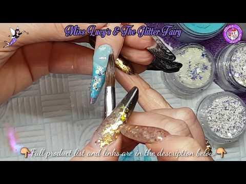 Russian Almond. Colour Change Acrylic. Sand Art