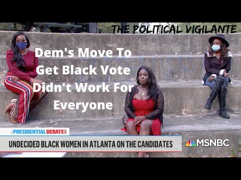 MSNBC Wasn't Expecting This Response From Black Women
