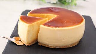 濃厚プッチンプリンチーズケーキ How To Make A Thick Cheese Pudding Cake
