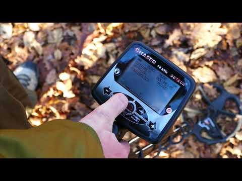 Detech Chaser - descriere si manual video - cum sa setezi rapid si corect detectorul de metale