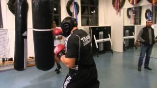 Бокс Денис Бойцов Тренировка