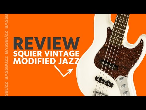 Squier Vintage Modified Jazz (Bass Review)