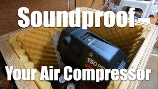 Sound Proofing a Compressor - Van's Aircraft Builders