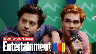 'Riverdale' Stars Cole Sprouse, Lili Reinhart & Cast Join Us LIVE | SDCC 2019 | Entertainment Weekly