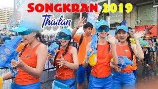 DU LỊCH THÁI LAN ▶ LỄ TÉ NƯỚC SONGKRAN 2019 LỚN NHẤT THẾ GIỚI tại BangKok
