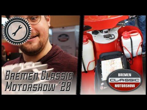 Moped Show & 2RadGeber Stand | Eindrücke von der Bremen Classic Motorshow 2020