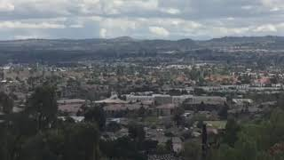 Drone video Raley Dr. Riverside, Calif
