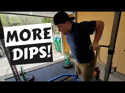 Band Assisted Dips - Dips For Beginners