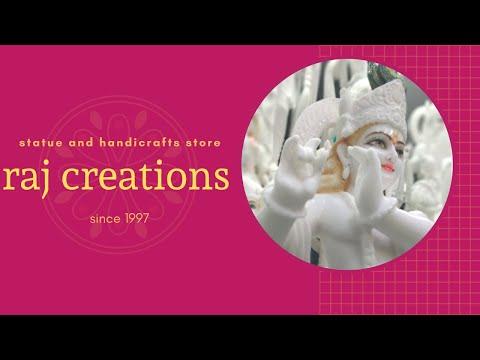 Lord Radha Krishna Marble Idol