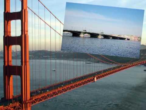 Сан-Франциско, мост Золотые Ворота