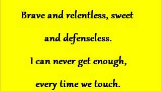 touch by the josh abbott band with lyrics