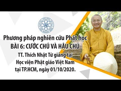 Cước chú và hậu chú ▏Phương pháp nghiên cứu Phật học